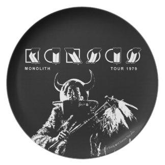 KANSAS - Monolith (1979) Melamine Plate