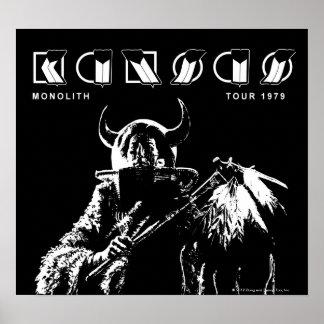 KANSAS - Monolith (1979) Posters