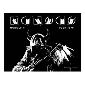 KANSAS - Monolith (1979) Postcard