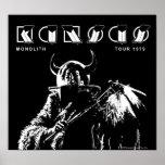 KANSAS - Monolith (1979) Poster