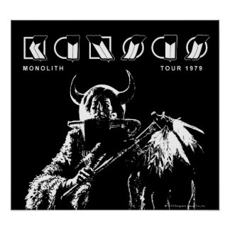 KANSAS - Monolith (1979) Print