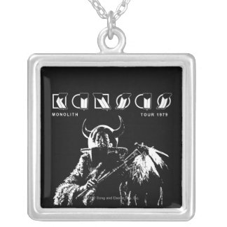KANSAS - Monolith (1979) Silver Plated Necklace