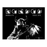 KANSAS - Monolith (1979) Tarjeta Postal