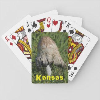 Kansas Mushroom Playing Cards