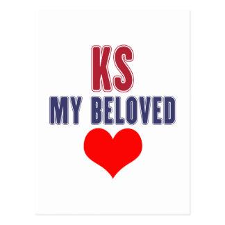 Kansas my beloved postcard