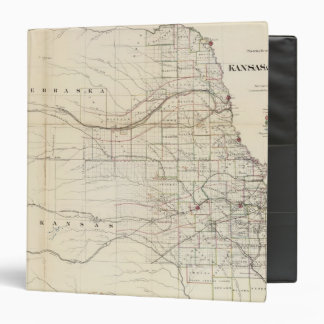 Kansas, Nebraska 2 3 Ring Binder