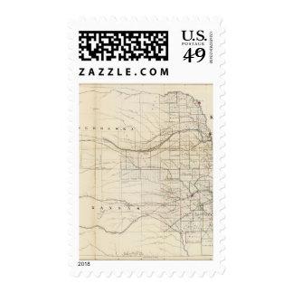 Kansas, Nebraska 2 Stamps
