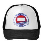 Kansas Newt Gingrich Trucker Hat