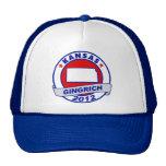 Kansas Newt Gingrich Trucker Hats