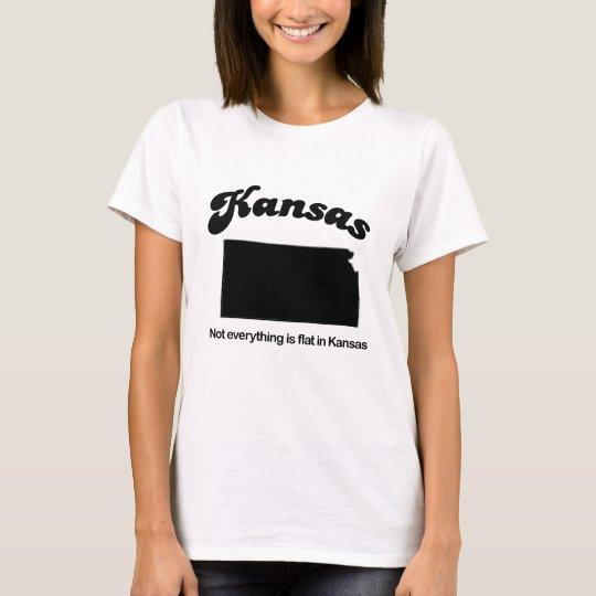 Kansas - Not everything is flat T-Shirt