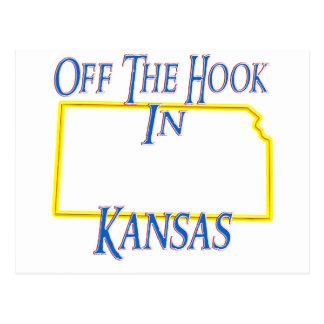 Kansas - Off The Hook Postcard