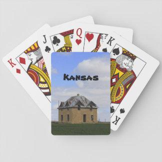 Kansas OLD HOUSE Playing Cards