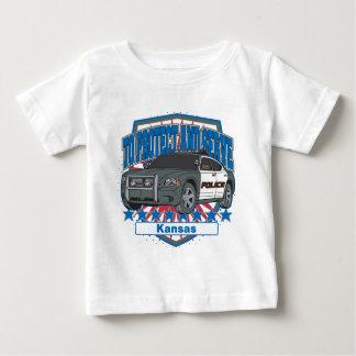 Kansas para proteger y para servir el coche tshirts
