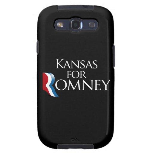 Kansas para Romney - .png Samsung Galaxy SIII Funda