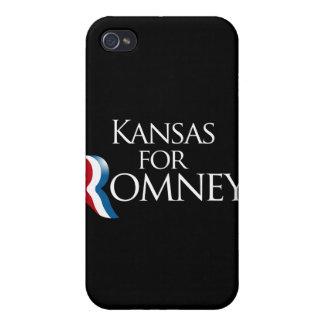 Kansas para Romney - png iPhone 4 Cárcasas
