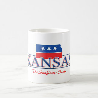 Kansas Patriotic Mug