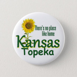 KANSAS PINBACK BUTTON