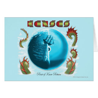 KANSAS - Point of Know Return 1977 Card