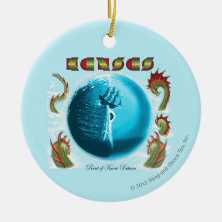 KANSAS - Point of Know Return (1977) Ceramic Ornament