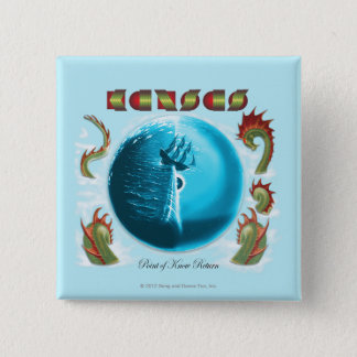 KANSAS - Point of Know Return (1977) Pinback Button