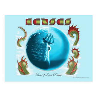 KANSAS - Point of Know Return (1977) Postcard