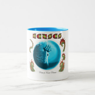KANSAS - Point of Know Return (1977) Two-Tone Coffee Mug