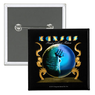 KANSAS - Point of Know Return (2007) 2 Inch Square Button