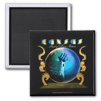 KANSAS - Point of Know Return (2007) 2 Inch Square Magnet