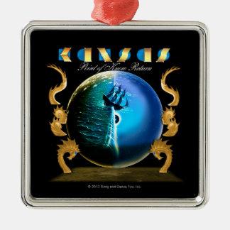 KANSAS - Point of Know Return (2007) Metal Ornament