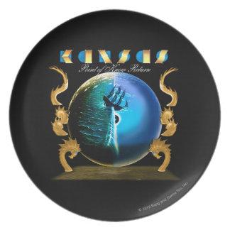 KANSAS - Point of Know Return (2007) Plate