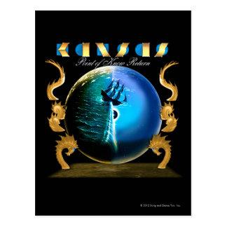 KANSAS - Point of Know Return (2007) Postcard
