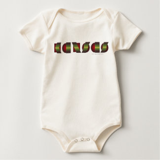 KANSAS (Point of Know Return Colors) Baby Bodysuit