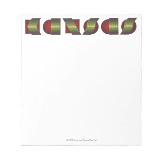 KANSAS (Point of Know Return Colors) Notepad