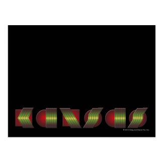 KANSAS (Point of Know Return Colors) Postcard