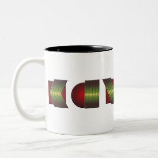 KANSAS (Point of Know Return Colors) Two-Tone Coffee Mug