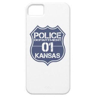 Kansas Police Department Shield 01 iPhone SE/5/5s Case
