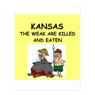 KANSAS POST CARDS