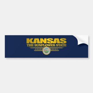Kansas Pride Bumper Sticker