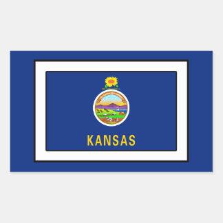 Kansas Rectangular Sticker