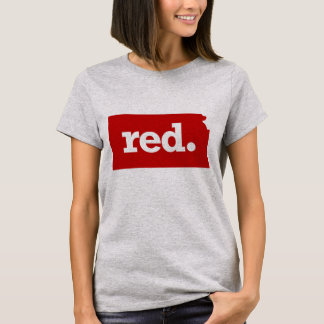 KANSAS RED STATE T-Shirt
