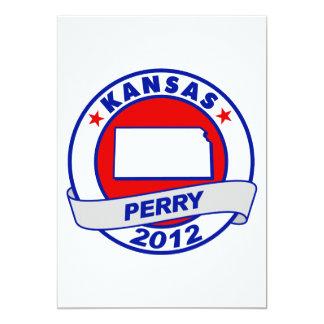 Kansas Rick Perry Invitación 12,7 X 17,8 Cm