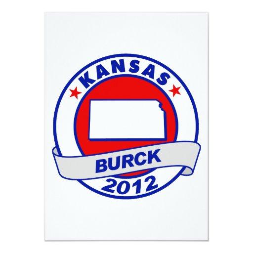 Kansas Roberto Burck Invitación Personalizada
