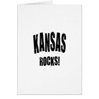 Kansas Rocks! Greeting Card