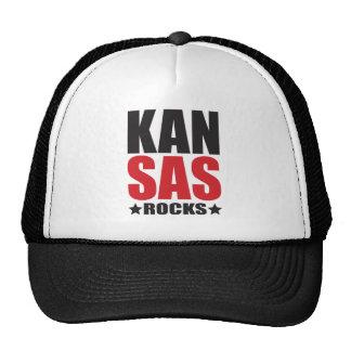 Kansas Rocks! State Spirit Gifts and Apparel Trucker Hat