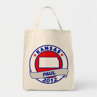 Kansas Ron Paul Canvas Bag