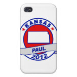 Kansas Ron Paul Cases For iPhone 4