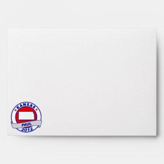 Kansas Ron Paul Envelopes