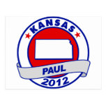 Kansas Ron Paul Post Card
