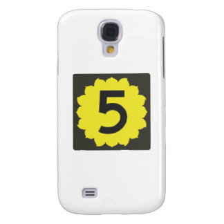 Kansas Route 5 (Five) Road Sign Travel Samsung Galaxy S4 Cover