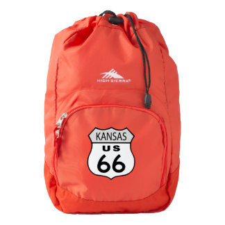 Kansas Route 66 Sign Backpack
